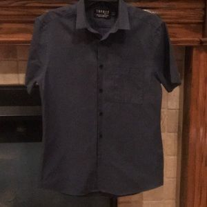 Men's short sleeve woven shirt